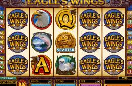 Az Eagles Wings nyerőgépes casino játék képe