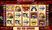 A Gold Rush Showdown ingyenes online nyerőgép képe