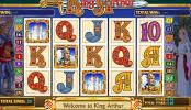 A King Arthur ingyenes online nyerőgép képe