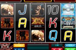 A The X Factor Jackpot ingyenes online nyerőgép képe