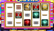 A Triple Bonus Spin´n Win ingyenes online nyerőgép képe