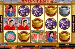 Az Asian Beauty ingyenes online nyerőgép képe