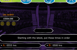 A Millionaire online nyerőgépes játék képe