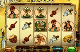 Kép az Ali Baba ingyenes online nyerőgépről