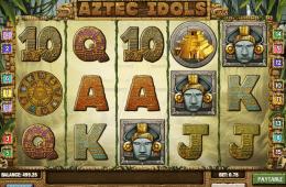 Az Aztec idols ingyenes online nyerőgép képe