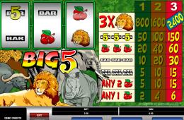 Online ingyenes nyerőgép Big 5