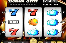 Kép a Bonus Star ingyenes online nyerőgépes játékról