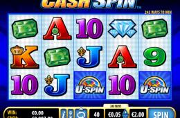 A Cash Spin nyerőgépes online kaszinó játék képe