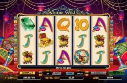 Kép a Genie Wild ingyenes online nyerőgépről
