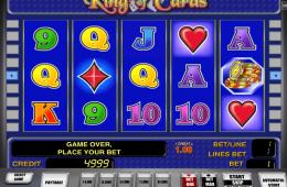 Kép a King of Cards ingyenes online nyerőgépről