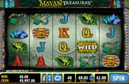 Kép a Mayan Treasure ingyenes online nyerőgépről