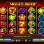 Kép a Mega Joker ingyenes online nyerőgépről