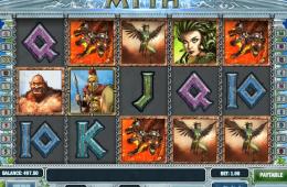 Kép a Myth ingyenes online nyerőgépről