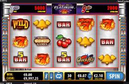 A Quick hit Platinum ingyenes online nyerőgépes játék képe