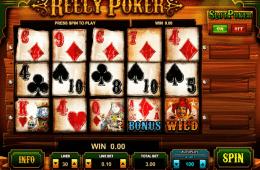 A Reely Poker ingyenes online nyerőgépes játék képe