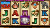 A Serengeti Diamonds online kaszinó játék képe