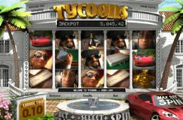 A Tycoons nyerőgépes játék képe
