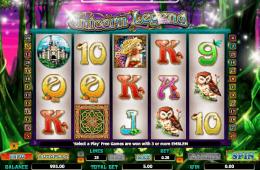 Kép az Unicorn Legend ingyenes online nyerőgépes játékról