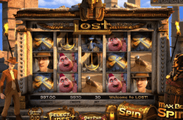 Kép a Lost ingyenes online nyerőgépről