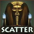 Az Egyptian Heroes ingyenes online kaszinó játék scatter szimbóluma