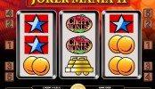 A Joker Mania II ingyenes online nyerőgépes kaszinó játék képe