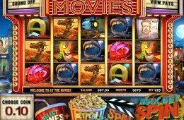 Az At the Movies ingyenes nyerőgépes online casino játék képe