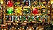 Kép az Aztec Treasures online ingyenes nyerőgépes casino játékról