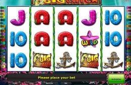 Kép a Big Catch ingyenes online nyerőgépes játékról