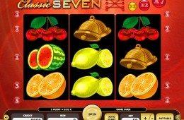 Játsszon ön is a Classic Seven online ingyenes nyerőgépes játékkal