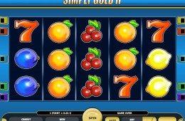 A Simply Gold II ingyenes online nyerőgépes kaszinó játék képe