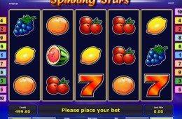 Kép a Spinning Stars online ingyenes nyerőgépes kaszinó játékról