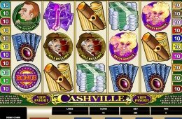 A Cashville ingyenes online nyerőgépes játék képe
