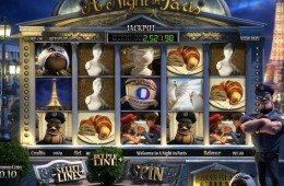 Ingyenes online casino nyerőgép A Night in Paris