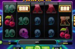 Twin Spin online nyerőgépes kaszinó játék regisztráció és letöltés nélkül