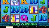 Casino nyerőgépes játék Crazy Chameleons ingyenes online