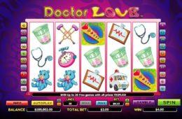 Casino nyerőgépes játék Doctor Love online