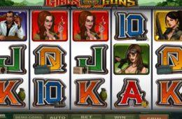 Slot Girls with Guns ingyenes online casino játék