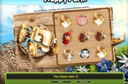 Happy Farm online ingyenes nyerőgép