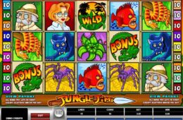 Casino nyerőgépes játék Jungle Jim online ingyenes