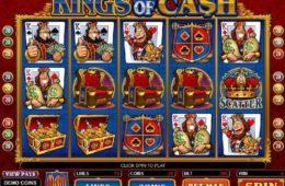 Kings of Cash online ingyenes nyerőgépes casino játék