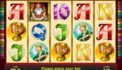 Online casino nyerőgépes játék King's Treasure