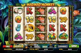 Casino ingyenes nyerőgép online Mad Mad Monkey