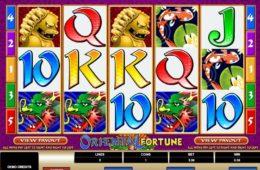 Nyerőgép Oriental Fortune ingyenes online