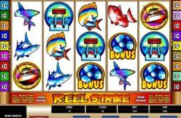 Casino nyerőgépes játék Reel Strike ingyenes online