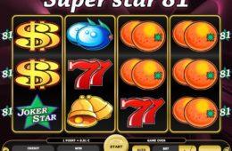 Online ingyenes nyerőgép Super Star 81