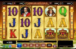 Online ingyenes nyerőgépes játék Versailles Gold pénzbefizetés nélkül