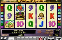 Banana Splash online ingyenes nyerőgépes játék