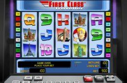 Ingyenes online nyerőgép First Class Traveller pénz befizetés nélkül