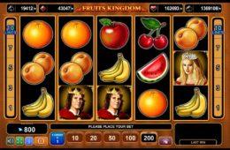 Ingyenes online nyerőgép Fruits Kingdom