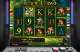 Online casino nyerőgép Magic Forest